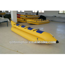 (EC) PVC matériau gonflable Banana Boat For Sale
