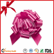 Large Red Pull Bow para envoltura de regalos, Wedding Bow