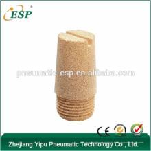 Китай высокое качество металла воздуха глушитель латунные фитинги латунь резьба глушитель BSLD