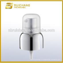 Pompe à crème en aluminium de 20 mm avec petite surcharge en pp