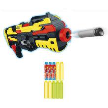 Зажим боеприпаса 20PCS и пушка игрушки пушки мягкого пули электрическая