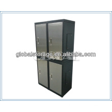 Stainless steel effect knock-down steel cabinet