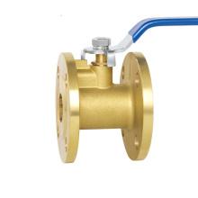 High quality brass flange ball valve dn15-dn150 smith dungs valve