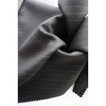 Stripe Tecido de lã pura para Suit