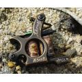 Neue Shader und Liner Brass-Schnitzerei-Tattoomaschinen
