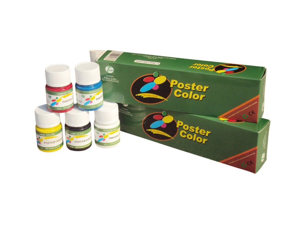 6 Color 30ml Poster Color