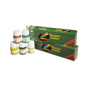 Color del cartel de 6 colores 30ml