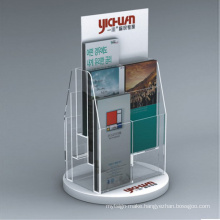 Acrylic Brochure Holder Display Stand