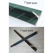 Precio del poste de la cerca de acero (poste de T & Y)