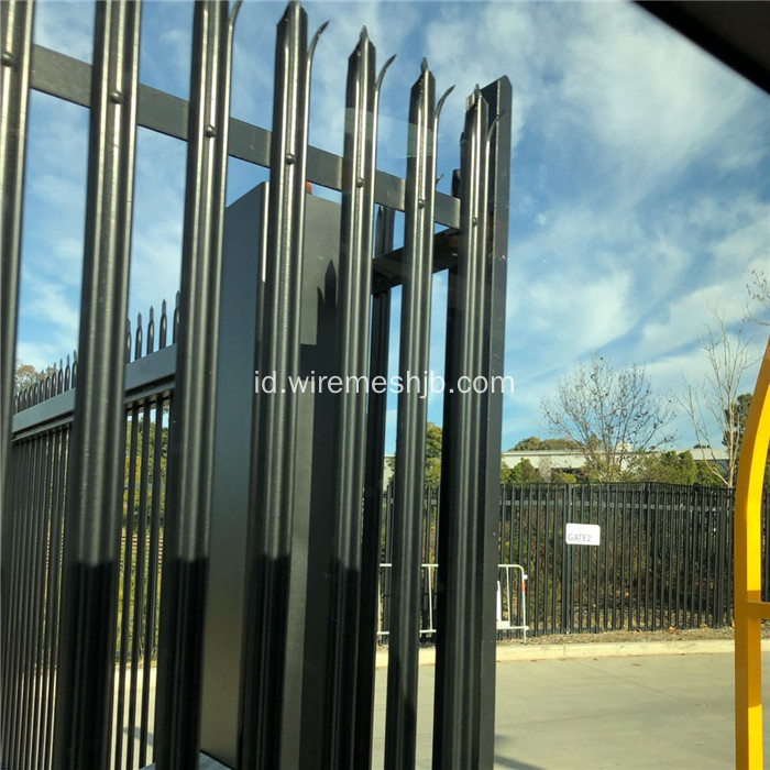 2.4 Meter High Powder Coated Palisade Fencing