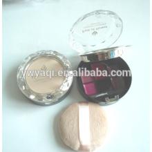 envase de polvo compacto caso polvo compacto redondo