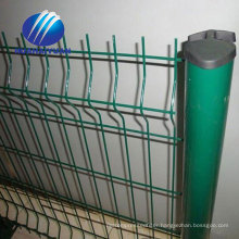 beatiful color curvy wire mesh fence welded wire fence metal wire fencing