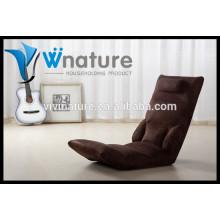 chaise de plancher sans jambes, chaise pliante portative chaise de plancher de salon de loisirs