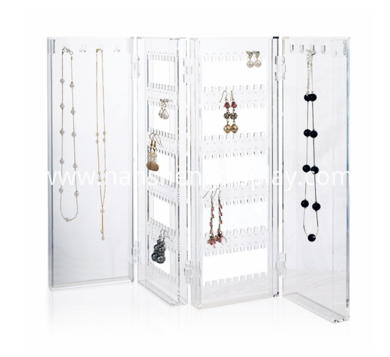 Foldable Jewelry Holder