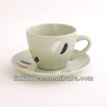 KC-03005new fancy tea cup with saucer,high quality coffee cup mug