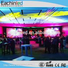 L'affichage à LED D'intérieur de location d'aluminium de moulage mécanique sous pression de P3 P4 / a mené l'écran / mur visuel de location