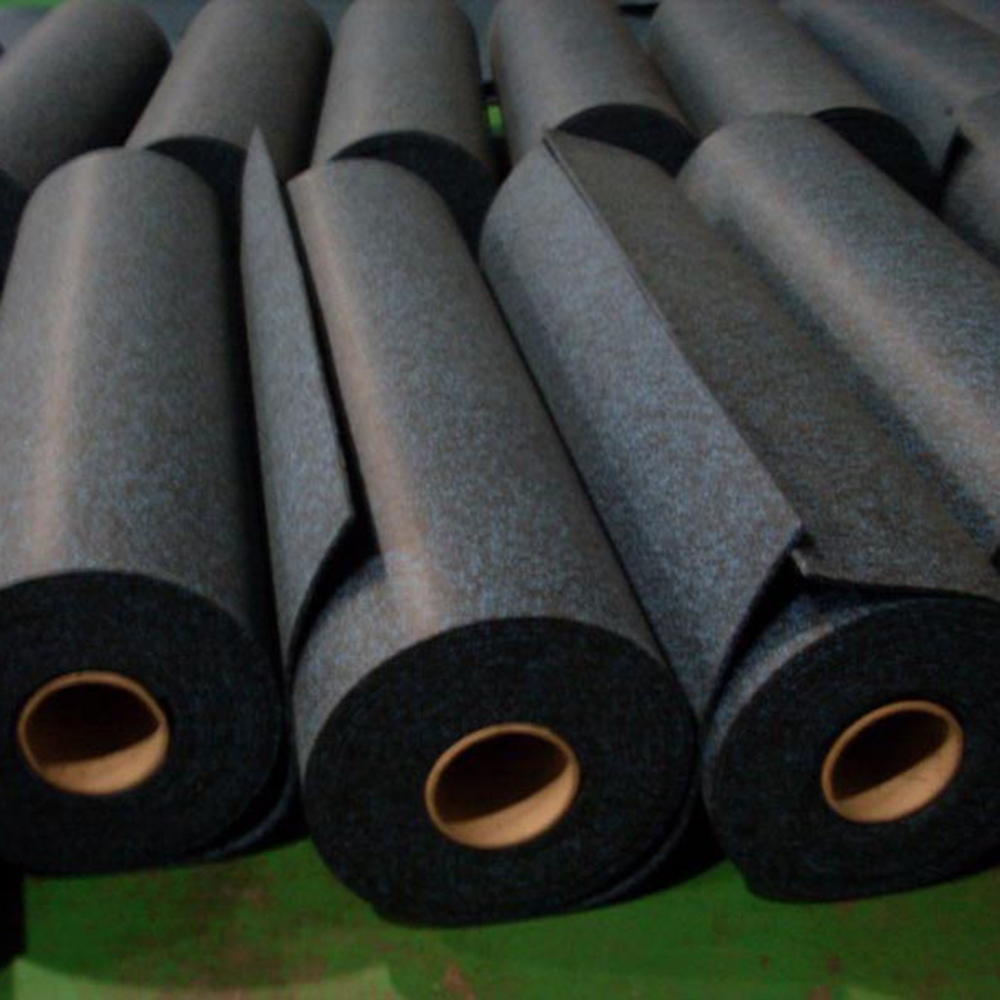 Premium Recycled Rubber Gym Rubber Flooring
