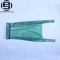 Жилет ручки зеленый HDPE пластиковые мешки для мусора