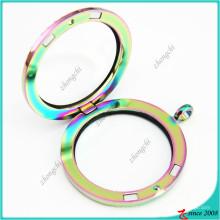 Heißer Verkauf Runde Magnet Glas Medaillons Schmuck