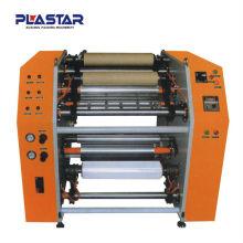 RW-500 folha de alumínio rebobinamento manual e máquina de corte (semi-automático)