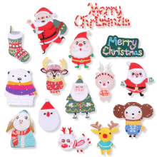 Custom Christmas Decorative Embroidery Patch