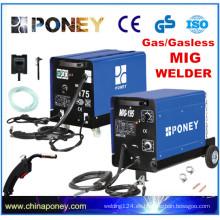 CE GS aprobado soldador de gas co2 MIG máquina de soldar