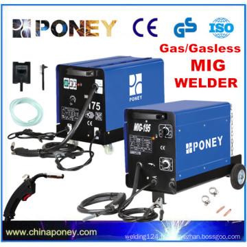 Machine de soudage MIG à soudeur de CO2 co2 homologué CE GS
