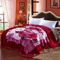 100% Polyester Korean Designs Mink Blankets