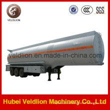 Aluminium 45m3 Kraftstofftank halb Anhänger