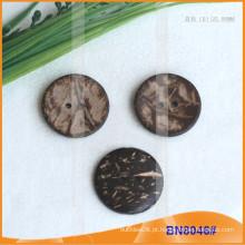Botões naturais de coco para vestuário BN8046