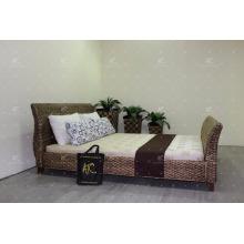 Mais recente Design de jacintos de água Quarto de tamanho duplo para móveis de interior