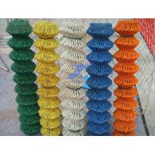 Venda quente PVC revestiu o engranzamento de fio de ligação da cadeia (TS-E135)
