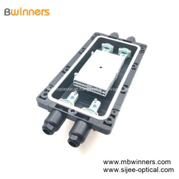 Novo tipo de junção de emenda de fibra óptica com 2 entradas / saídas