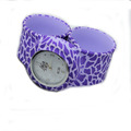 cute and popular jelly style ice watch