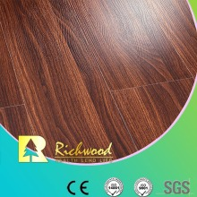 Piso laminado comercial de 8,3 mm E0 HDF AC3 Crystal Oak Waxed Edge
