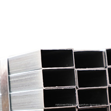 hollow section erw carbon galvanized square steel pipe ! q235 ss400 st37 square galvanized fence post