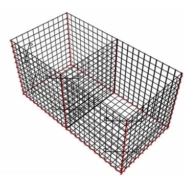 Galvanized Welded Gabion Basket with Ce Certifcate