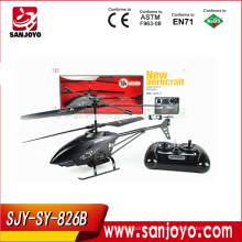 HOT outdoor flying rc helicóptero con cámara