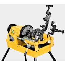 Máquina roscadora de tubos portátil eléctrica