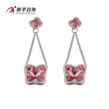 Xuping Luxus CZ Kristalle von Swarovski elegante Serie Ohrring (E-118)