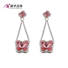 Cristales de lujo CZ de Xuping de Swarovski Elegant Series Earring (E-118)