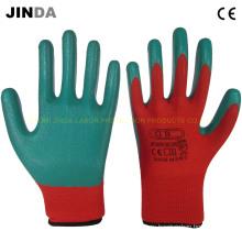 Перчатки для строительных работ с нитриловым покрытием (NS014)