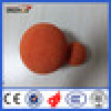 Sponge pipe cleaning ball for line pump/hard sponge ball/concrete pumps cleaning sponge ball/cleaning rubber sponge ball