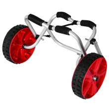 Superly practical aluminum kayak cart