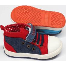 Nuevos zapatos de bebé de los zapatos del diseño con la suela cómoda (SNB-18-0008)