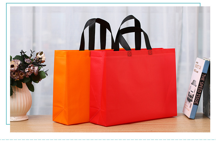 types of non woven bags