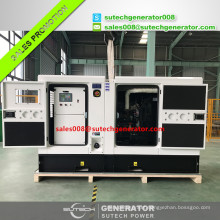 50kva electric power plant 40kw diesel generator set price with Perkin engine 1104A-44TG1
