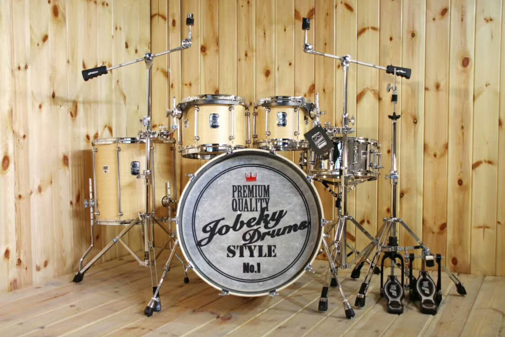 Technical Wood Drum Set