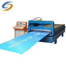 Máquina formadora de rolos de aço ondulado ondulado