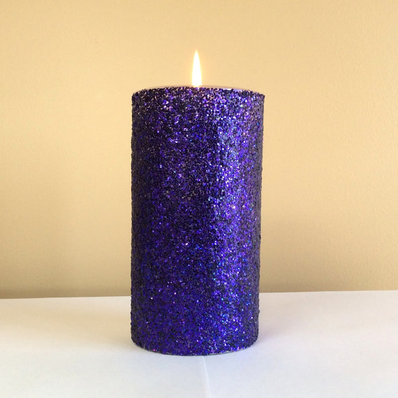 Wholesale Metal Paint Column Wax Aromatherapy Candle